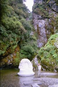 Dali Mountain Stream with Buddha