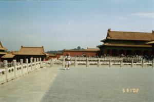 Zack at the Forbidden City